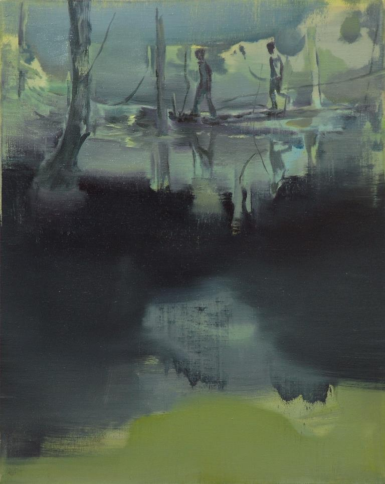 6two-runaways-100x80cm-oil-on-canvas-2014