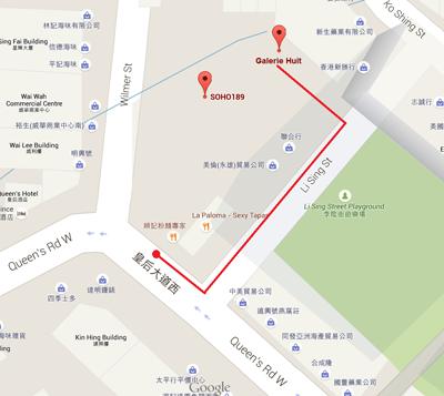 Galerie Huit Map