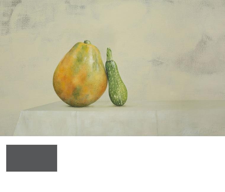 Ahmad Zakii Anwar_Papaya + Zucchini