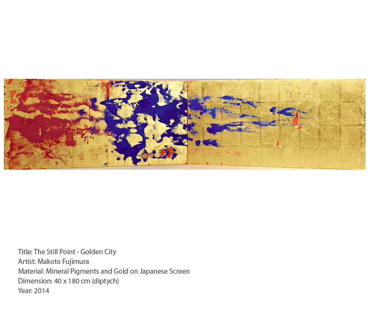 Makoto Fujimura_The Still Point - Golden City