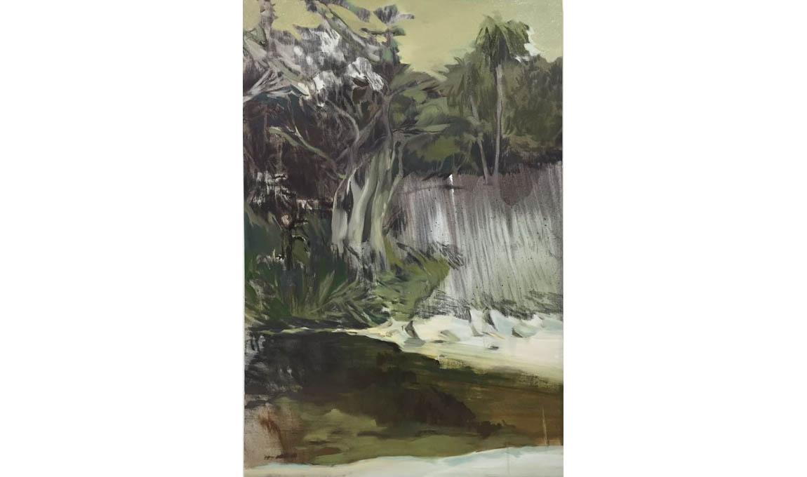 Lu-Song-Milk-Beach-5-2016-oil-on-canvas-120-x-80-cm