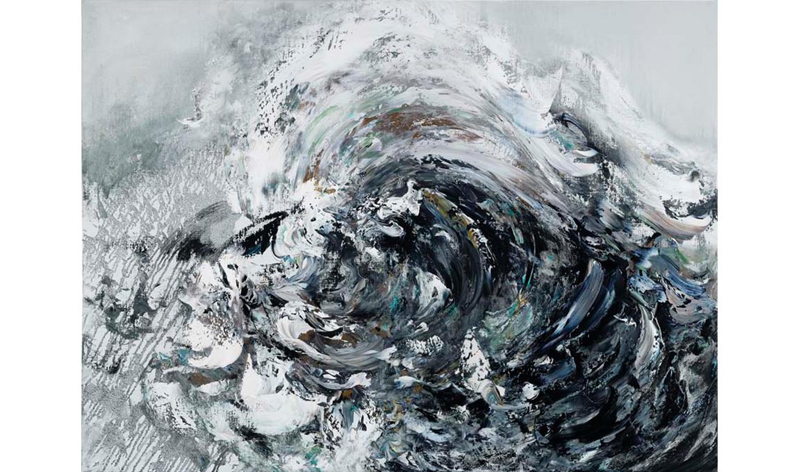 MH006-Maggi-Hambling-Winter-wave-crashing-91-x-121-cm-Oil-on-canvas-2010