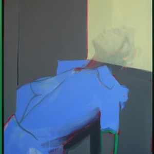 Tom Gidley, Composition, 2015, 100 x 80 cm, oil on linen, coated aluminium_low res