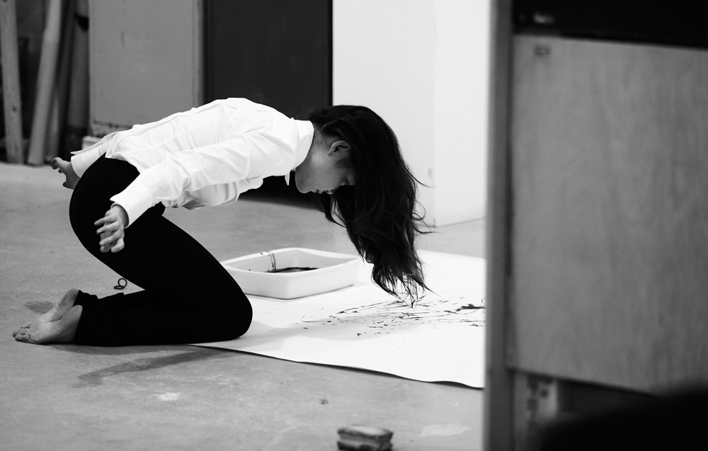 4. I am a Brush by Xie Rong, live performance, 3.30 hours, 2011 (image_Jamie Baker)