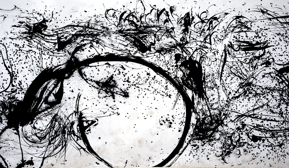 Hairpainting-section-1-by-Xie-Rong-ink-on-paper-size-variable-2011