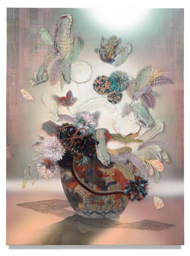GC012_Fish_Gordon Cheung_150 x 112.5 cm_Mixed media on canvas_2018