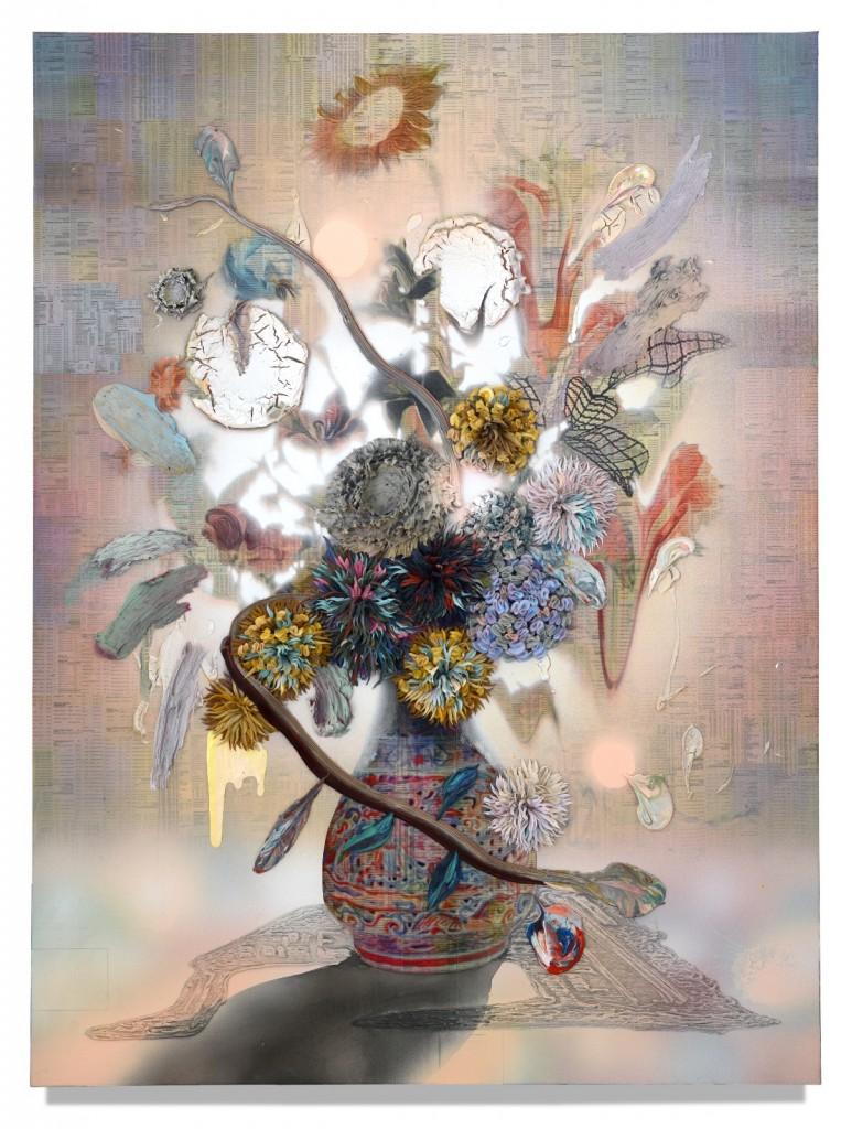 GC014_Haze_Gordon Cheung_150 x 112.5 cm_Mixed media on canvas_2018