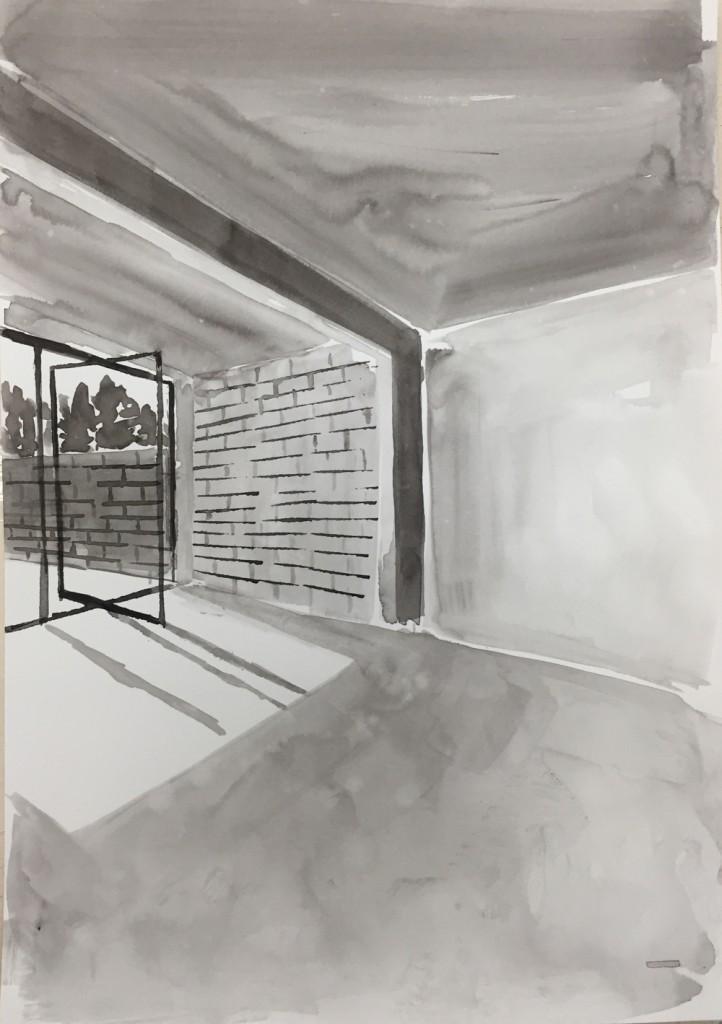 SB010_Ink Rooms 1_Sara Berman_Ink on paper_30.5 x 39.5 cm_2017_low