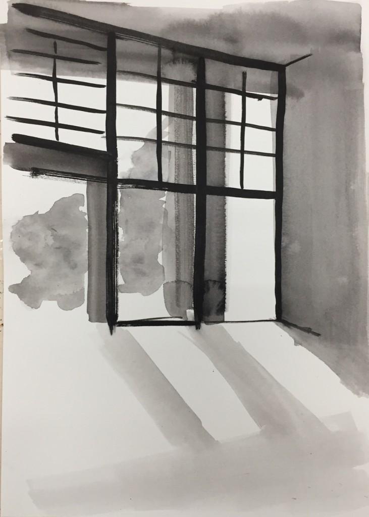 SB012_Ink Rooms 3_Sara Berman_Ink on paper_30.5 x 39 cm_2017_low