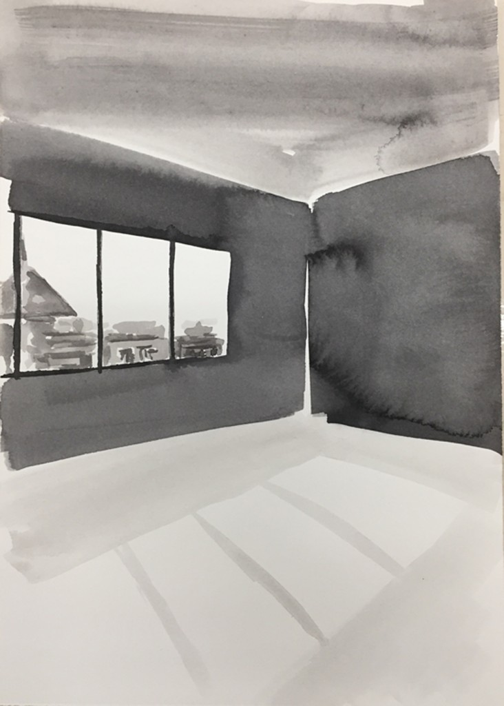 SB014_Ink Rooms 5_Sara Berman_Ink on paper_30.5 x 39 cm_2017_low